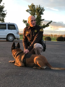 Kade Loveland and Belgian Malinois Drago