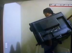 Rebecca Loeb Moving a TV